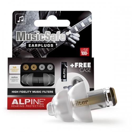 apsauginiai kamštukai ausims nuo muzikos, alpine