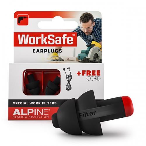 apsauginiai kamštukai ausims nuo triukšmo, worksafe alpine